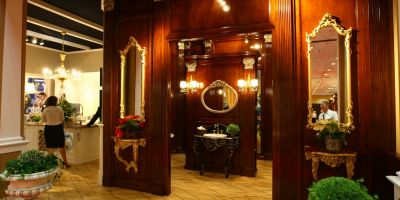 FOTOGALERIE Vedetele Targului de mobila: minisauna si baia-sufragerie