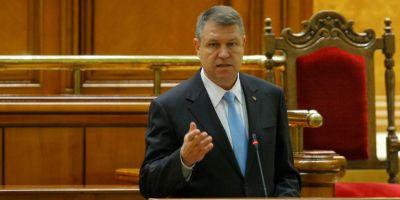 Klaus Iohannis vrea sa se adreseze plenului reunit al Parlamentului saptamana viitoare