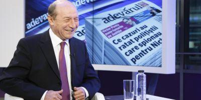 Basescu, despre Voiculescu si trustul Intact: Nu ne-am inteles la bani. Cerea prea mult