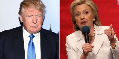 Alegeri SUA 2016. Donald Trump castiga in alte cinci state, Hillary Clinton isi creste avansul in fata lui Sanders