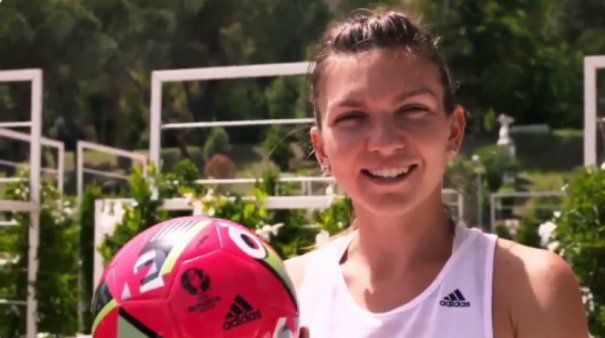 VIDEO | Simona Halep sustine nationala Romaniei la Euro. Modul inedit prin care tenismena i-a incurajat pe