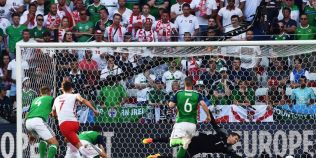 Polonia invinge Irlanda de Nord, cu 1-0, intr-un meci arbitrat de Ovidiu Hategan