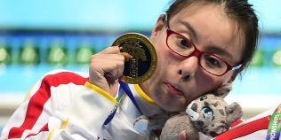 VIDEO O inotatoare din China face senzatie la Rio! Reactiile sportivei dupa concursuri sunt fabuloase