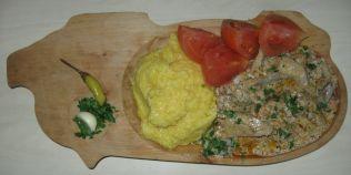 Cum gatim cea mai buna ciulama de ciuperci moldoveneasca