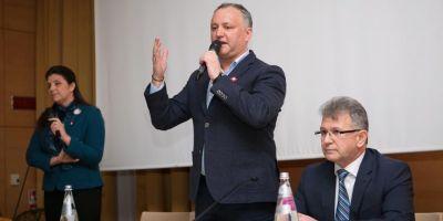 Igor Dodon: Daca nu o sa fim o tara neutra, Moldova se va rupe in bucati. O bucata o va lua Romania si s-a terminat