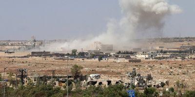 Schimbare in strategia de razboi? Atacurile aeriene din Siria au vizat trupe sprijinite de Iran