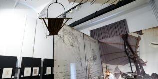 De pe schita, in muzeu: inventiile lui Leonardo da Vinci, construite si vernisate intr-o expozitie in premiera mondiala