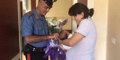 Cum a ajuns o romanca de 41 de ani sa nasca in plina strada la Roma, asistata de carabinieri. Femeia mai are 7 copiii