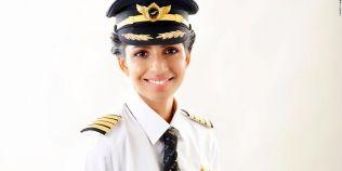 Cum arata cea mai tanara femeie pilot a unui Boeing 777
