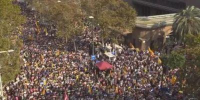 LIVE VIDEO Miting pentru independenta la Barcelona