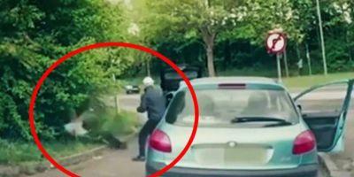 Gestul golanesc al unui sofer de BMW, dojenit in trafic: