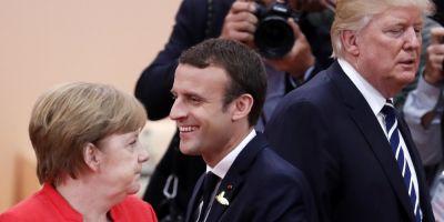 Angela Merkel ar putea sosi alaturi de Macron la Davos, intr-o confruntare epica cu Donald Trump