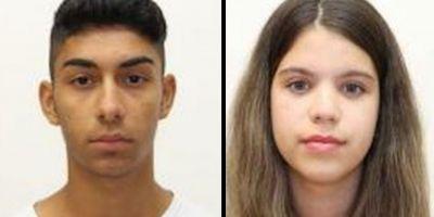 Adolescentii de 15 ani dati disparuti dupa ce au fugit impreuna au fost gasiti