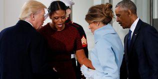 Michelle Obama a dezvaluit ce cadou a primit de la Melania Trump in Ziua Inaugurarii