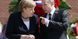 Diplomatie culinara la nivel inalt: ce alimente isi trimit Merkel si Putin