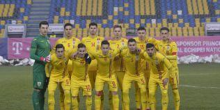 Romania Under 19 a pierdut calificarea la Campionatul European dupa ce a luat gol in minutul 90+2