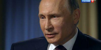 Putin, despre atacul occidentalilor in Siria: O