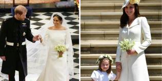 Ce cadou special i-a facut Meghan cumnatei sale, Kate, in ziua nuntii cu Printul Harry